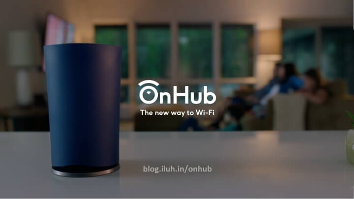 OnHub — очень простой роутер