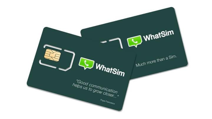 WhatsApp в SIM-карте